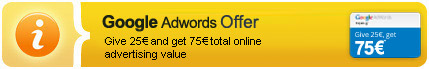 50 euros google advertising coupon