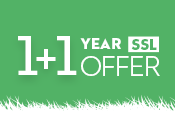 Easter offer: 1+1 year SSL